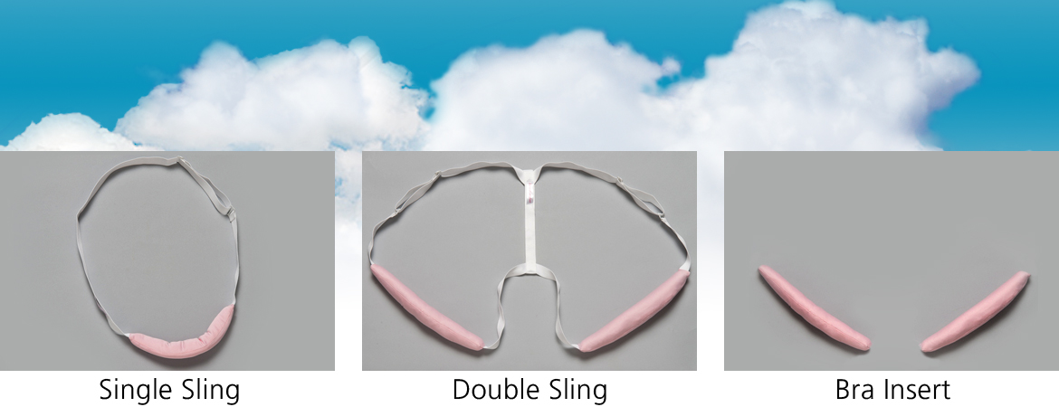Single Sling, Double Sling, Bra Insert